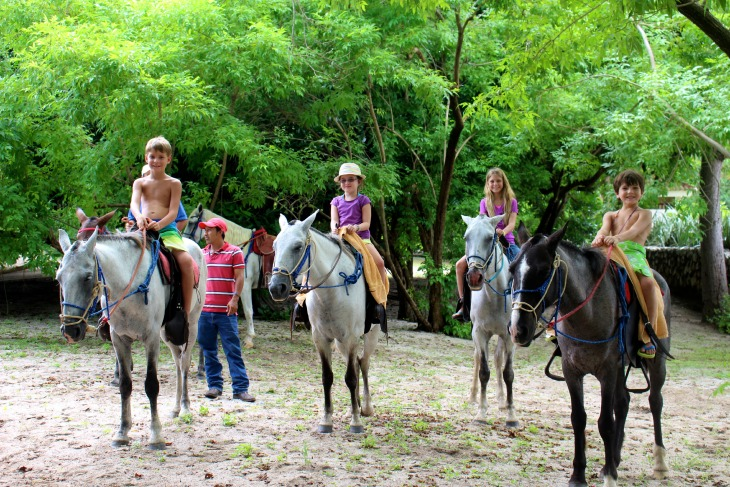 Horseback riding on Playa Conchal, Costa Rica