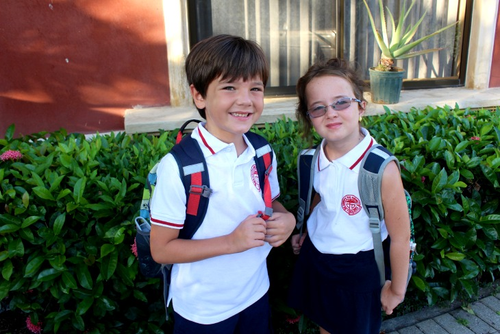 First Day of School in Costa Rica