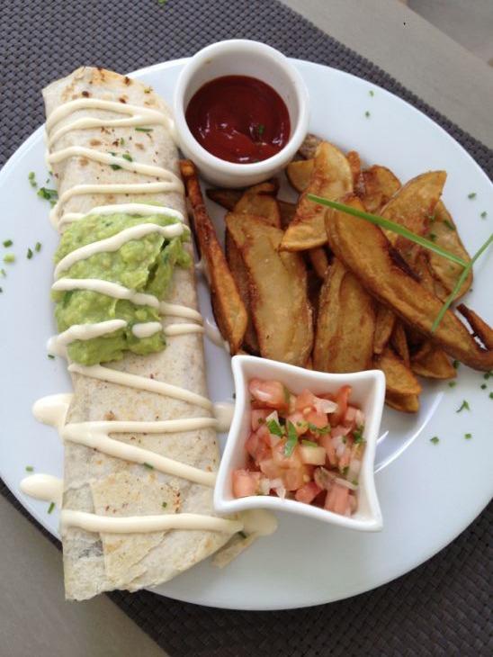 The Green House Food Burrito
