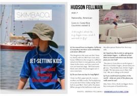 Skimbaco Lifestyle Magazine: 10 Jet Setting Kids