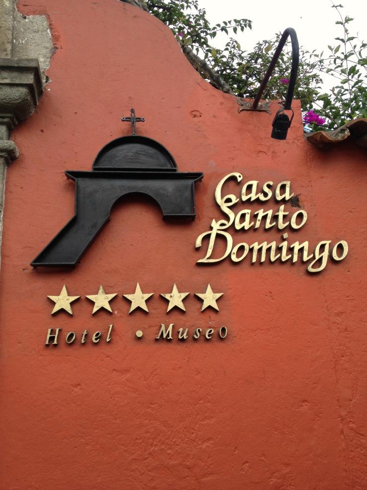 Casa Santo Domingo Antigua Guatemala