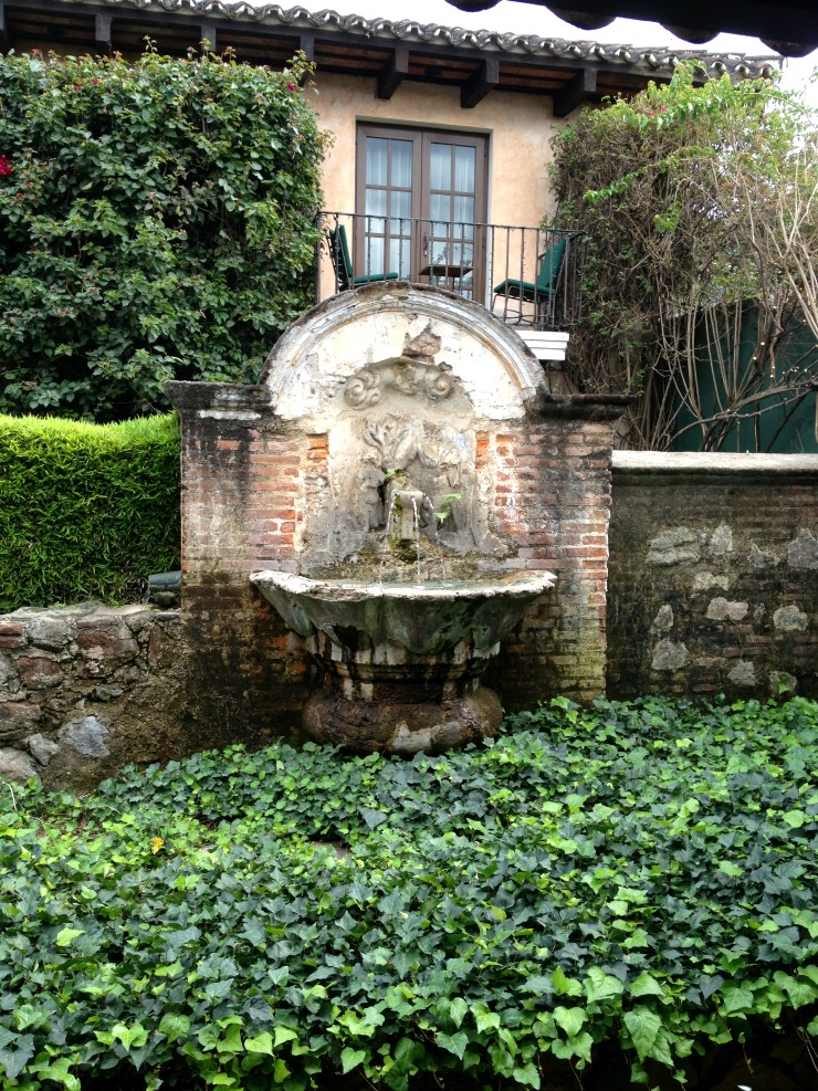 Casa Santo Domingo Fountain Antigua Guatemala