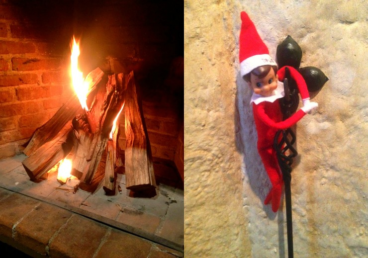 Fireplace Elf On Shelf Christmas in Guatemala Wanderlust Living