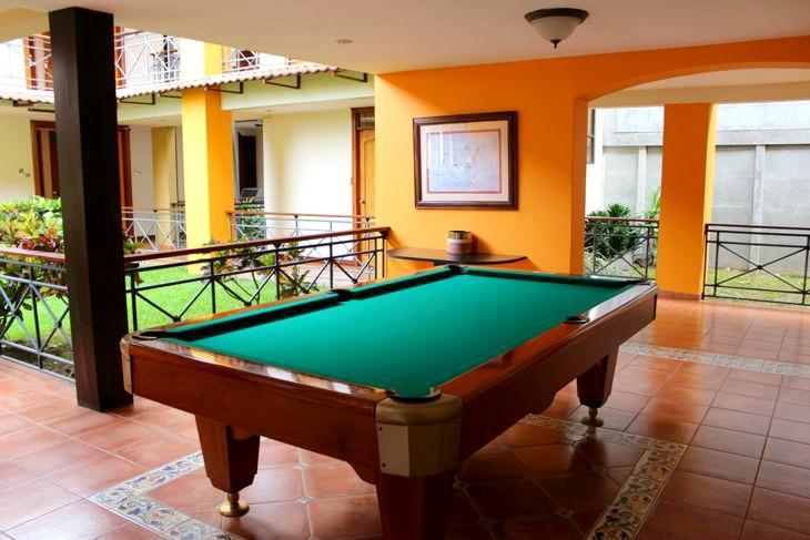 Hotel El Rodeo San Jose Costa Rica Game Room