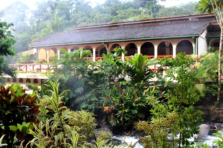 Tabacon Hot Springs Restaurant