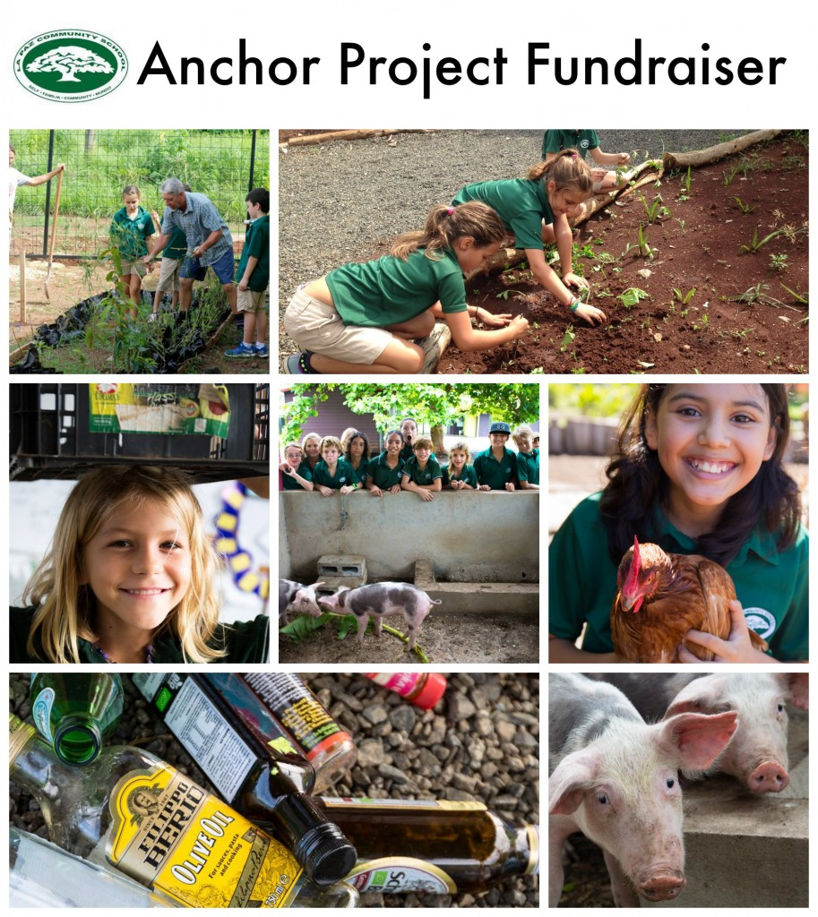 Anchor Project Fundraiser La Paz CommunitySchool Costa Rica
