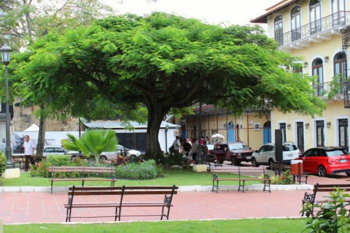 Plaza HErrera Panama City Casco Antiguo