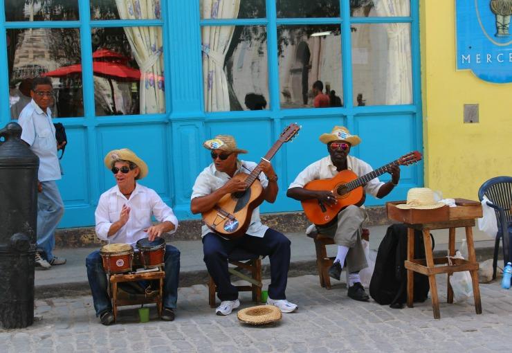 havana Cuba Street Musicians