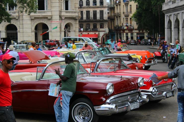 Cuba Cloassic Cars