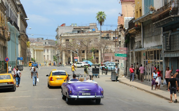 Havana Cuba Classic Cars Wanderlust Living