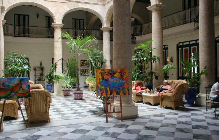 Hotel Florida Havana Cuba