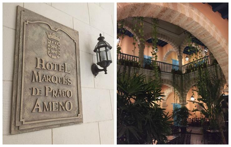 HOtel Marques de Prado Ameno Havana Cuba