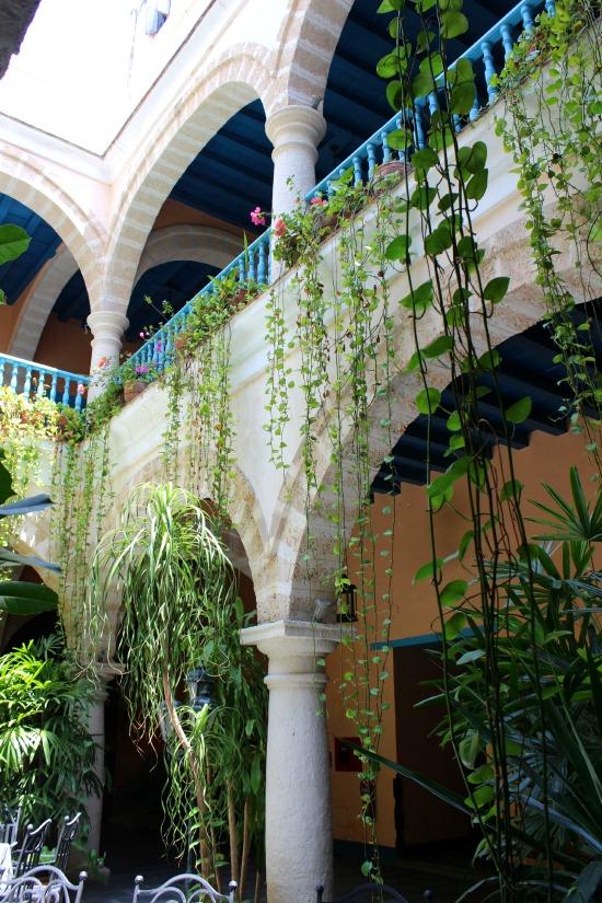 Hotel Marques de Prado Ameno Courtyard Havana Cuba
