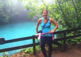 Rio Celeste Waterfall Hike