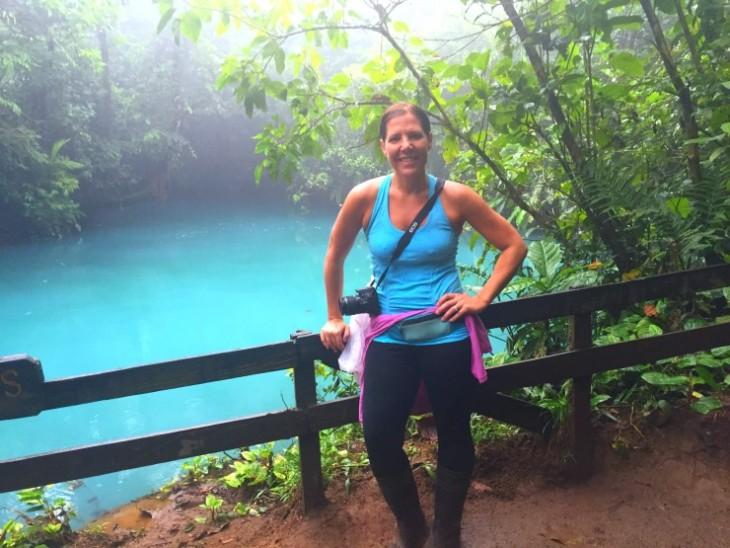 Rio Celeste Waterfall Hike