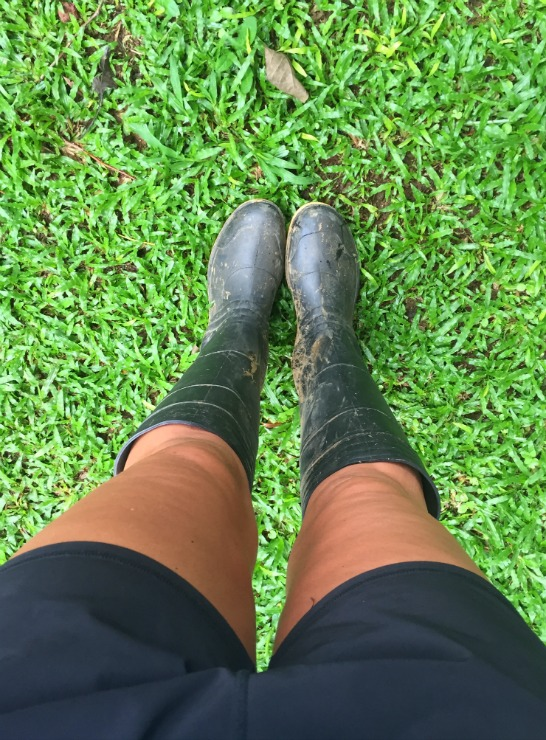 La Carolina Lodge rain boots