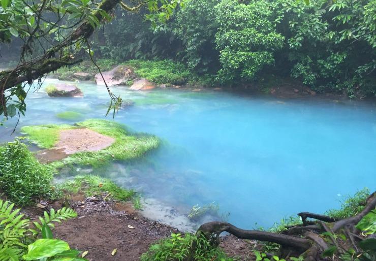 Rio Celeste Blue River in Costa Rica Wanderlust Living Travel