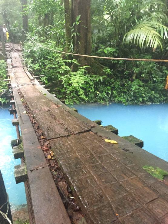 Rio Celeste Costa Rica River Bridge