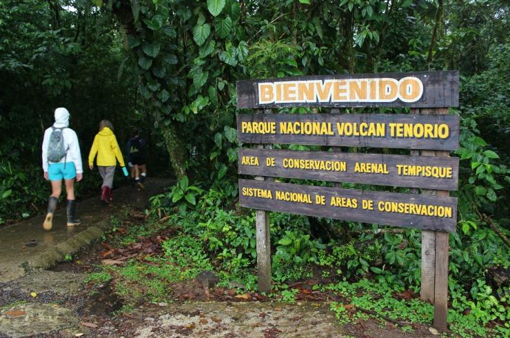 Tenorio Volcano National Park Costa Rica