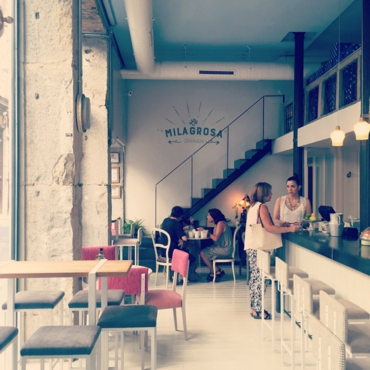 My favorite place in Granda, Spain: La Milagrosa Cafe
