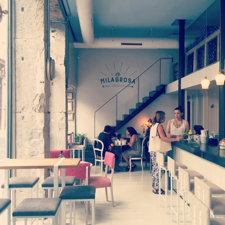 My favorite place in Granda, Spain: La Milagrosa Cafe