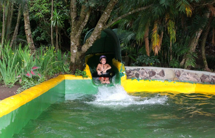 Buena Vista Lodge Jungle Water Slide Costa Rica 201560