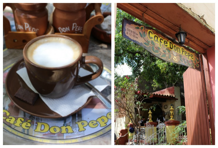 Cafe Don Pepe Trinidad Cuba Coffee Shop