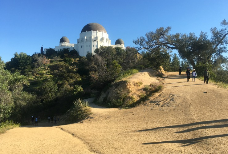 Griffith Park Observatory Hiking Trails Los Angeles Wanderlust Living