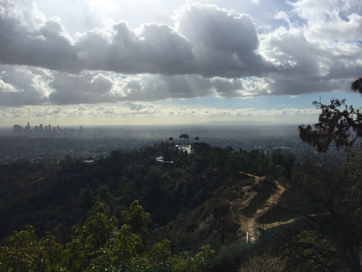 HIking in Los Angeles Griffith Park Observatory Wanderlust Living