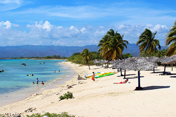 Playa Ancon Trinidad Cuba Travel Beaches Wanderlust Living small