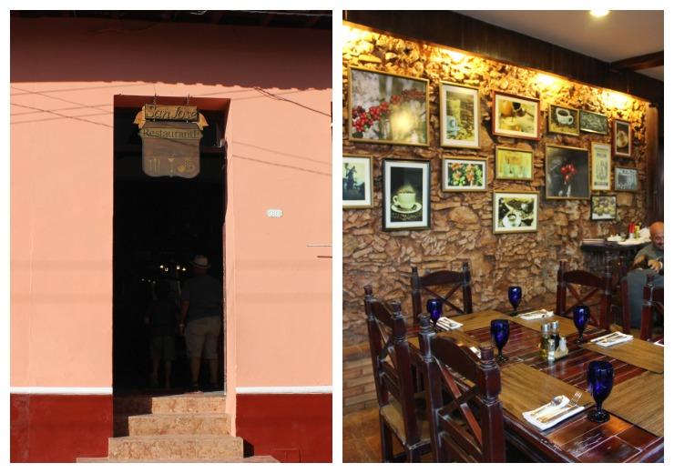 San Jose Restauratn Trinidad Cuba