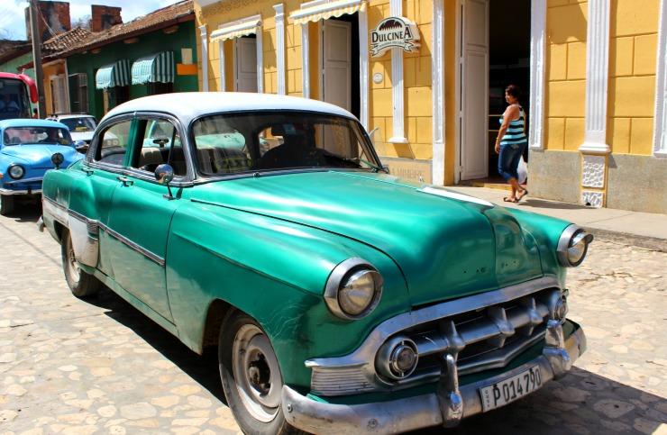 Trinidad Cuba Classic Cars Wanderlust Living