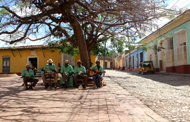 Trinidad Cuba Street Musicians Wanderlust Living