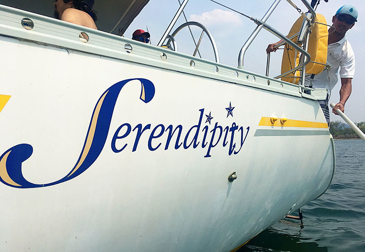 Serendipity Charters Costa Rica Sailing Private adn Semi Private Tours