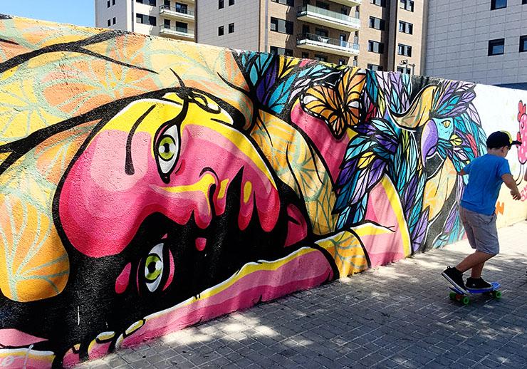 Skate Park Street Art Barcelona Hudson Wanderlust Living