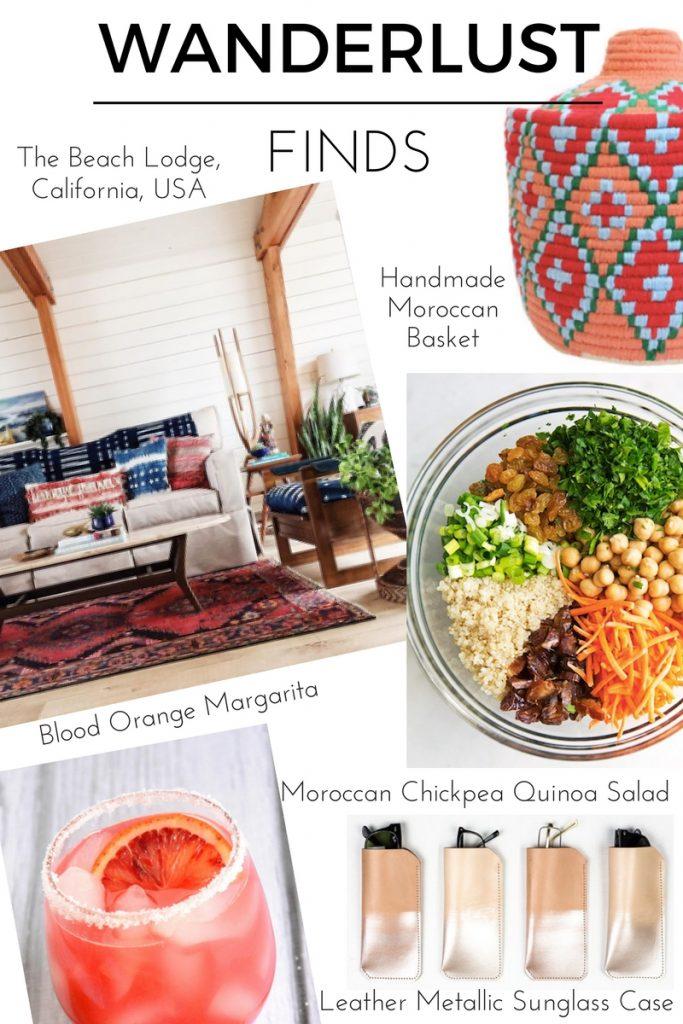 Weekly Wanderlust Finds: Moroccan Chickpea Quinoa Salad