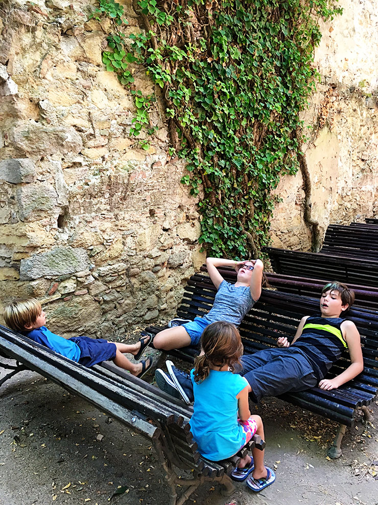 girona-spain-climbing-the-roman-walls-family-travel