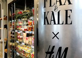 H & M + Flax and Kale:  A hipster match made in heaven!