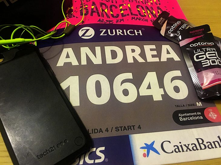Running a marathon with Tech 21