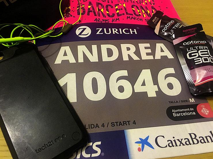Running a marathon with Tech 21
