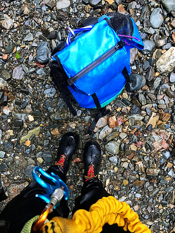Winter Canyoning with the Tech 21 waterproof iphone case!