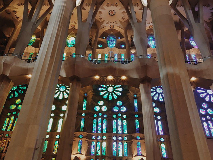 A look inside Sagrada Familia