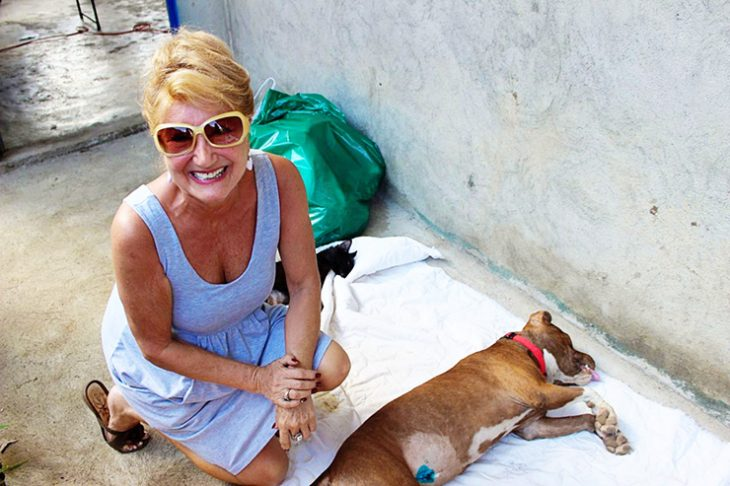 In Memory of Dawn the Dog Lady in Costa Rica