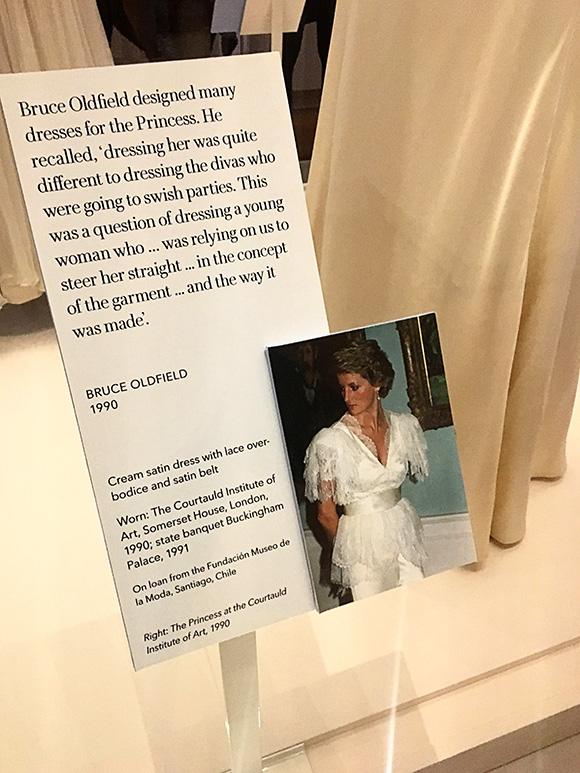 Princess Diana Her Fashion Story At Kensington Palace