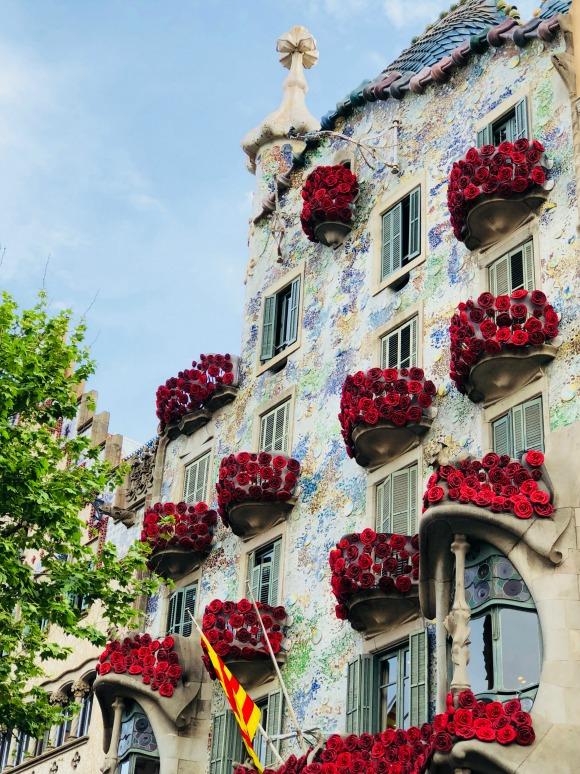 Celebrating Sant Jordi in Barcelona