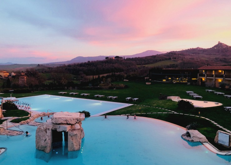 Why Adler Thermae is the Most Dreamy Family Spa in Tuscany