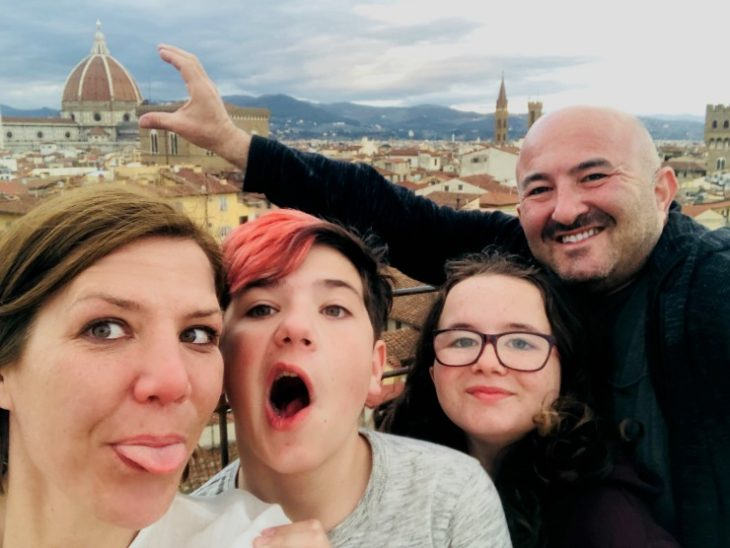 Finding some fun in Florence, Italy