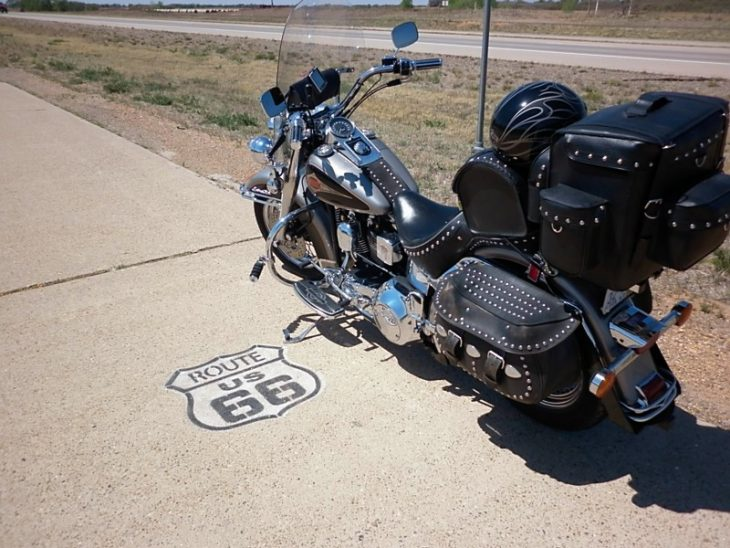 A photo diary of my dad's trip down Route 66