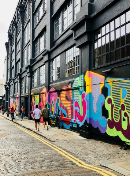 Step inside the colorful world of Shoreditch, London